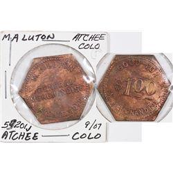 Atchee Colorado M. A. Luton Token  (124205)