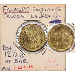 La Jara Colorado Farmers Exchange Saloon Token  (124219)