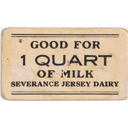 Severance Jersey Dairy Token  (124183)