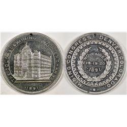 Colorado Mining Stock Exchange Medal  (124229)