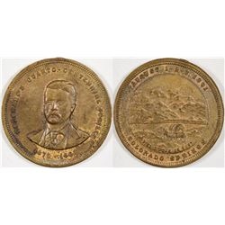 Colorado's Quarto-Centennial Jubilee Medal  (124230)