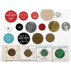 Mississippi Military Token Collection  (124352)