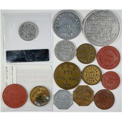 Grand Island Token Collection (14)  (120154)