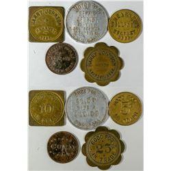 Kearney Token Collection (5)  (121647)