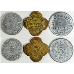 Litchfield Tokens Including Unlisted (3)  (121636)