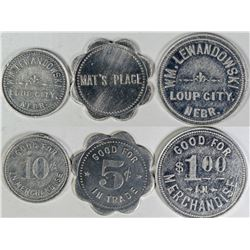 Loup City Token Collection (3)  (121624)