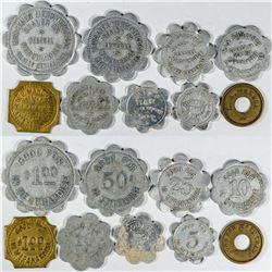 Platte Center Token Collection (9)  (121613)