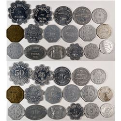 Dixon County Nebraska Token Collection  (121947)
