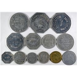 Nebraska Hamilton and Hall Counties Token Collection  (122685)