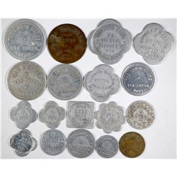 Johnson County Nebraska Token Collection  (122683)