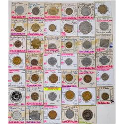 Nebraska Lincoln County Token Collection  (122681)