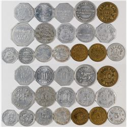 Nebraska Perkins, Keith, Cheyenne & Deuel County Tokens  (121935)