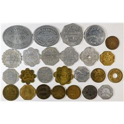 Nebraska Platte, Madison & Boone County Tokens  (121932)