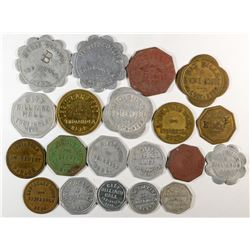 Nebraska Red Willow County Token Collection  (121931)