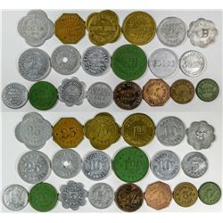 Red Willow County Nebraska  Token Collection (20)  (121618)