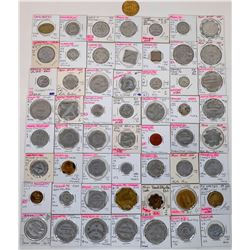 Saunders County Nebraska Token Collection  (122688)