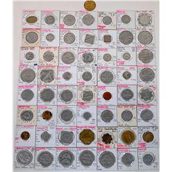 Saunders County Nebraska Token Collection  (122688)
