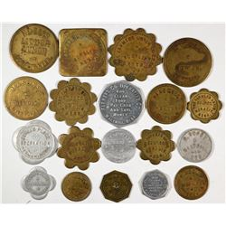 Nebraska Thurston, Washington & Burt County Tokens  (121949)