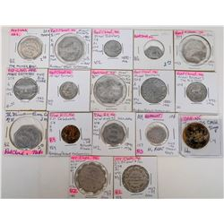 Nebraska Webster & Nuckolls Counties Token Collection  (122680)