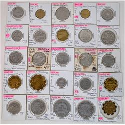 Nebraska York & Polk Counties Token Collection  (122679)