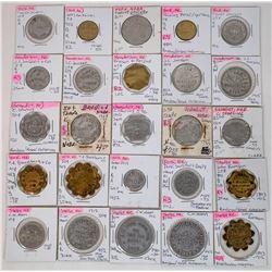 Nebraska York & Polk Counties Token Collection  (122679)
