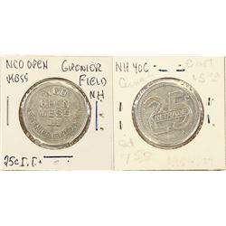 New Hampshire NCO Open Mess  Grenier Field Token  (124348)