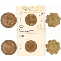 New Jersey Token Group - 3  (126188)