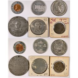 New York Token Group 2 - 6 pcs  (126190)