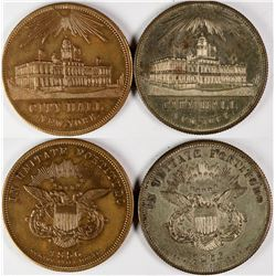$20 New York City Hall Counters (2)  (122976)