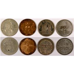 New York Token Group 1 - 4 pcs  (126189)