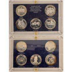 Charleston South Carolina Bicentennial Commemorative Coins  (124035)