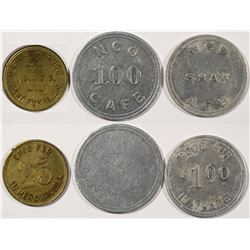 South Carolina Military Tokens  (124342)