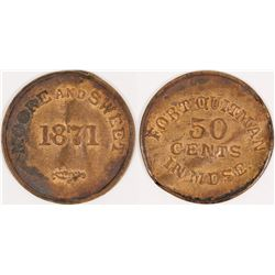 Moore and Sweet Fort Quitman Token  (124178)