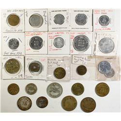 Texas Military Token Collection  (124339)