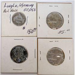 Lusk/Lingle Wyoming Tokens  (122088)