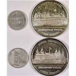 Casino and Hotel Tokens - 2  (126193)