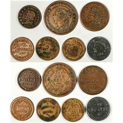 Civil War Store Cards  (122610)