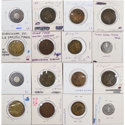 Foreign Token Group #15, Lot of 8  (121872)
