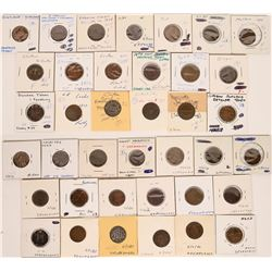 Foreign Token Group #19, Lot of 19  (121876)
