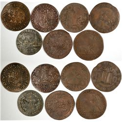 Foreign Token Group #2, Lot of 7  (121860)