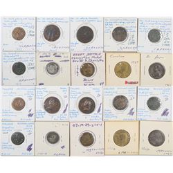 Foreign Token Group #21, Lot of 10  (121878)