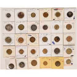 Foreign Token Group #23, Lot of 30  (121880)