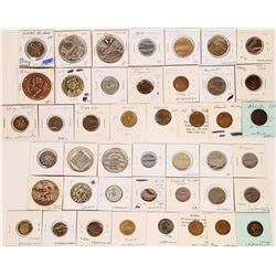Foreign Token Group #26, Lot of 26  (121883)