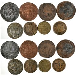 Foreign Token Group #3, Lot of 8  (121861)