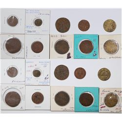 Foreign Token Group #5, Lot of 9  (121863)