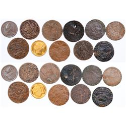 Foreign Token Group #6, Lot of 11  (121864)
