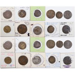 Foreign Token Group #7, Lot of 11  (121865)