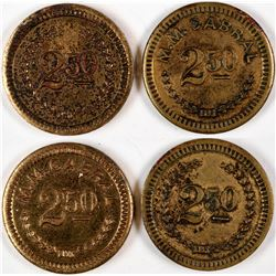 M.M. Cabral $2 1/2 Counters  (122985)