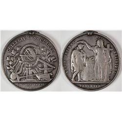 Silver Santa Clara University Prize Medal  (124016)