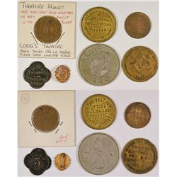 Theater Token Group 1 - 6 pcs  (126181)